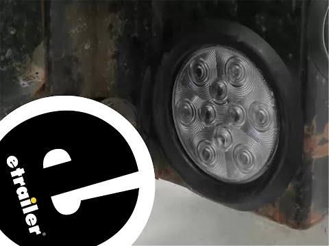 Optronics Round LED 3 Function Trailer Light Installation - etrailer.com