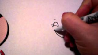 How to draw your own faces on Cricut die cuts.