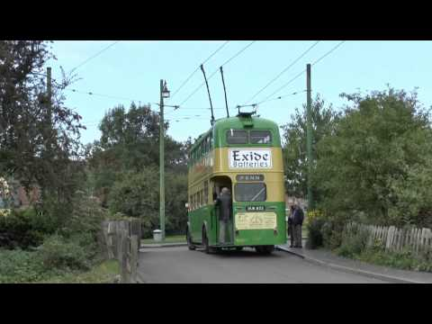 Buses Trams & Trolley Buses  - Black Country Museum  - 28/09/13