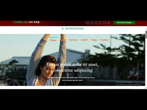 Fashion Designing Website Template Free Download - YouTube