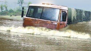 """SpinTires 2014 - Прохождение карты """"Наводнение"""" - #1"""