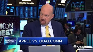 How the Apple-Qualcomm legal battle might affect the companies' stock