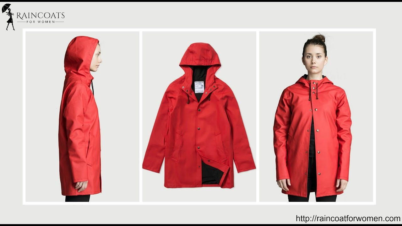 Red Rubber Raincoat - YouTube