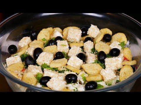 """Салат  """"НОВОГОДНЯЯ ЗАГАДКА"""", цыганка готовит. Gipsy Cuisine."""