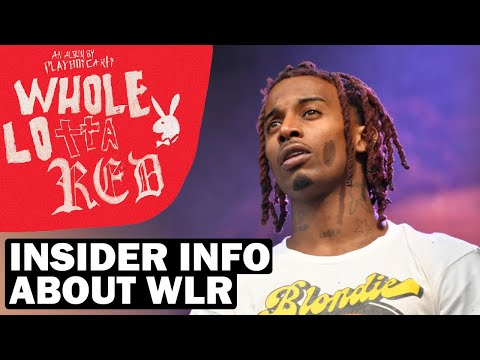 INSIDER INFORMATION ABOUT WHOLE LOTTA RED RELEASE DELAY (Playboi Carti Album)