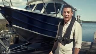 Покоритель мелководий! ¦ Обзор катера с водометом ¦ Для рыбалки и экспедиций 260 Ocean King Jet