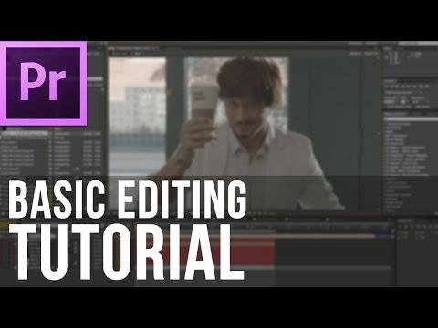 Adobe Premiere Pro CS6 - Basic Editing Tutorial (EASY)