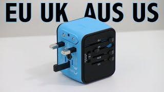 Best All-in-One International Power Adapter Review - EU - UK - AUS - US