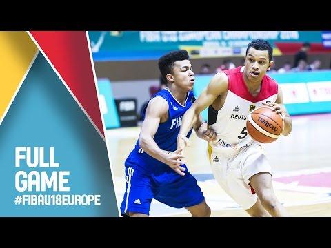 Germany v Finland - Full Game - FIBA U18 European Championship 2016