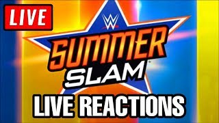 🔴 WWE Summerslam 2019 Live Stream Reactions -  Full Show Watch Along