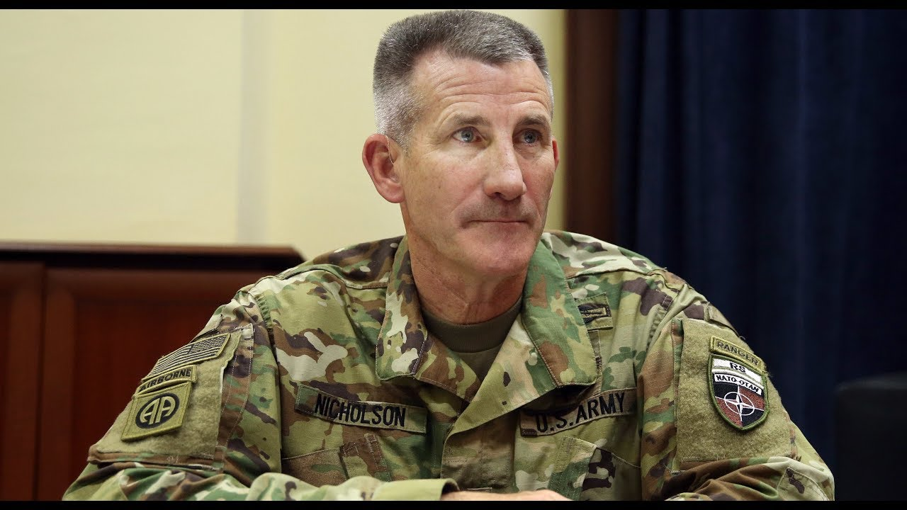 General Speaks Out On Afghanistan War >> Us Afghan War General John Nicholson To Be Fired Next Youtube