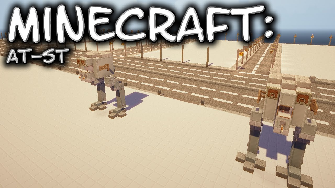 Minecraft: Star Wars: AT-ST Tutorial