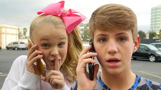 Repeat youtube video JoJo Siwa Gives Out MattyBRaps Phone Number!