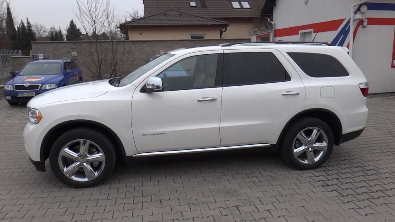 Awd Sports Cars >> 2012 Dodge Durango Citadel 5,7l AWD Presentation |Full HD ...