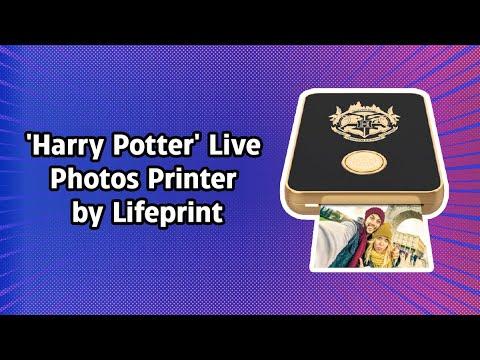 'Harry Potter' Live Photos Printer by Lifeprint