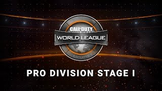 1/12 North America Pro Division Live Stream - Official Call of Duty® World League