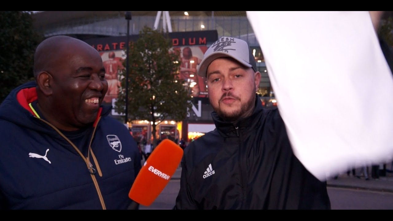 496b474d4 Would Any Arsenal Supporter Wear A Tottenham Shirt For Money  - YouTube