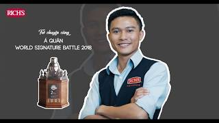 Conversation with Le Huu Phuoc – World Signature Battle 2018 1st runner up