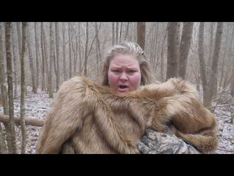Surviving 24 hours in the wilderness (Trailer Trash Tammy & Ross Smith)