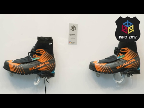 Scarpa Ribelle Tech OD Mountaineering Boot Review | ISPO 2017