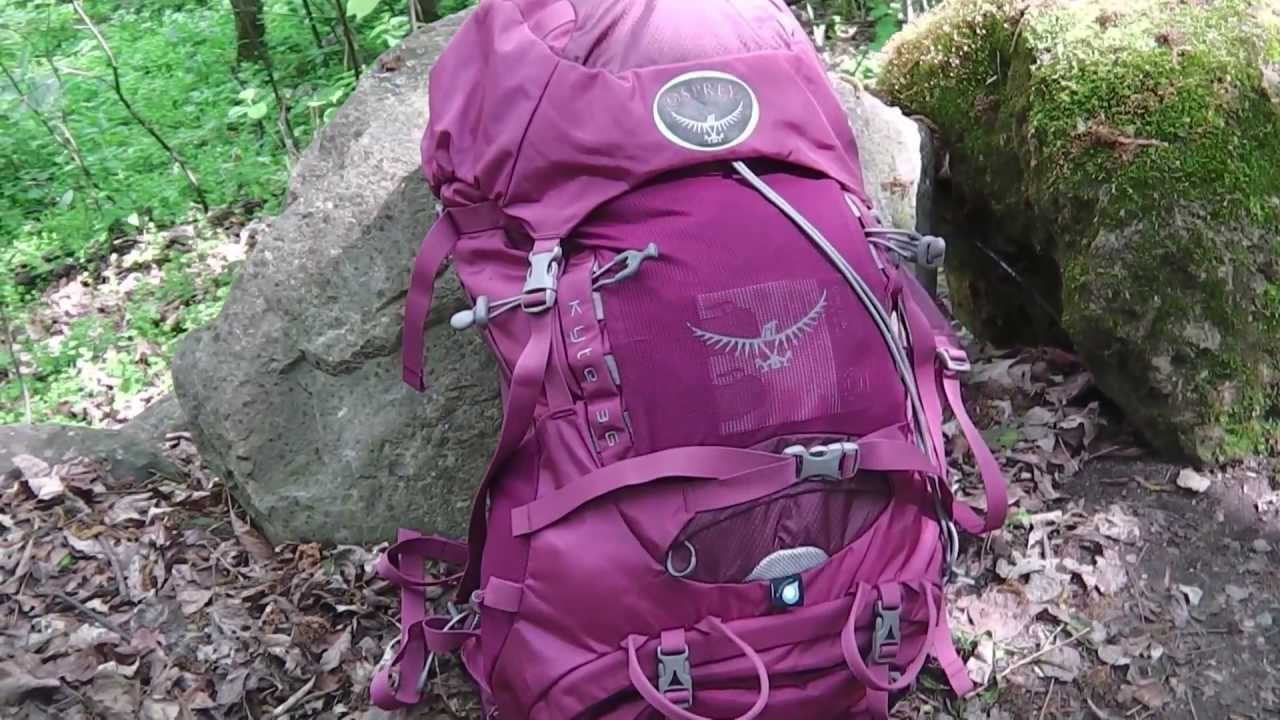 ccd947bb5c40 Osprey Women's Kyte 36 Pack Tested + Reviewed - YouTube