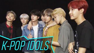 Download BTS Discusses Their Intensely Loyal Fans & Celeb Crushes! | Access Hollywood Mp3 and Videos