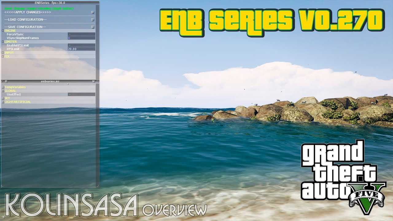 GTA 5 ENB Series v0 270