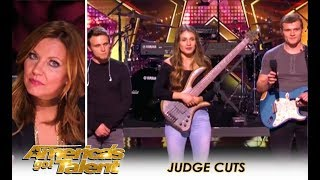 We Three: Sibling Band Get HUGE Praise From Martina McBride After THIS! | America's Got Talent 2018