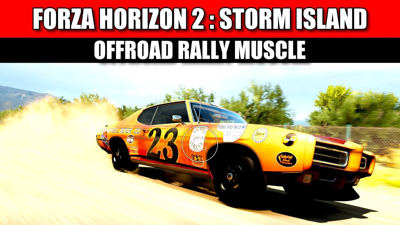 Forza Horizon Muscle Car Rally Build Tune With Commentary Youtube