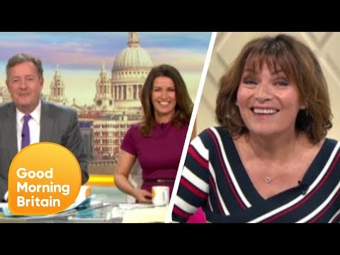 Piers Morgan And Lorraine's Best Live Links: Celebrating 35 Years Of Lorraine | Good Morning Britain