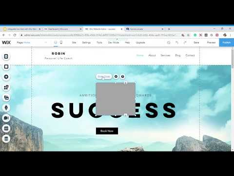 Integrate Live Chat Plugin With Wix Website