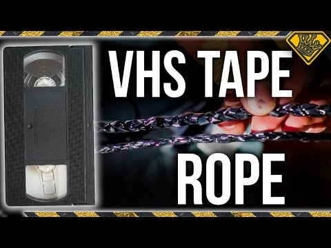 How STRONG is ROPE From VHS Tape? (Movie Mythbusting)