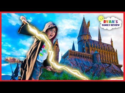 Ryan At Harry Potter Studio Tour In London!!!!