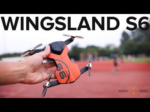 Wingsland S6 Pocket Drone with GPS Review and Maiden Flight
