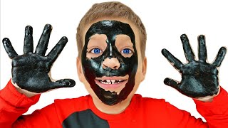 My face and my hands are black - وجهي ويدي سوداء, from Max