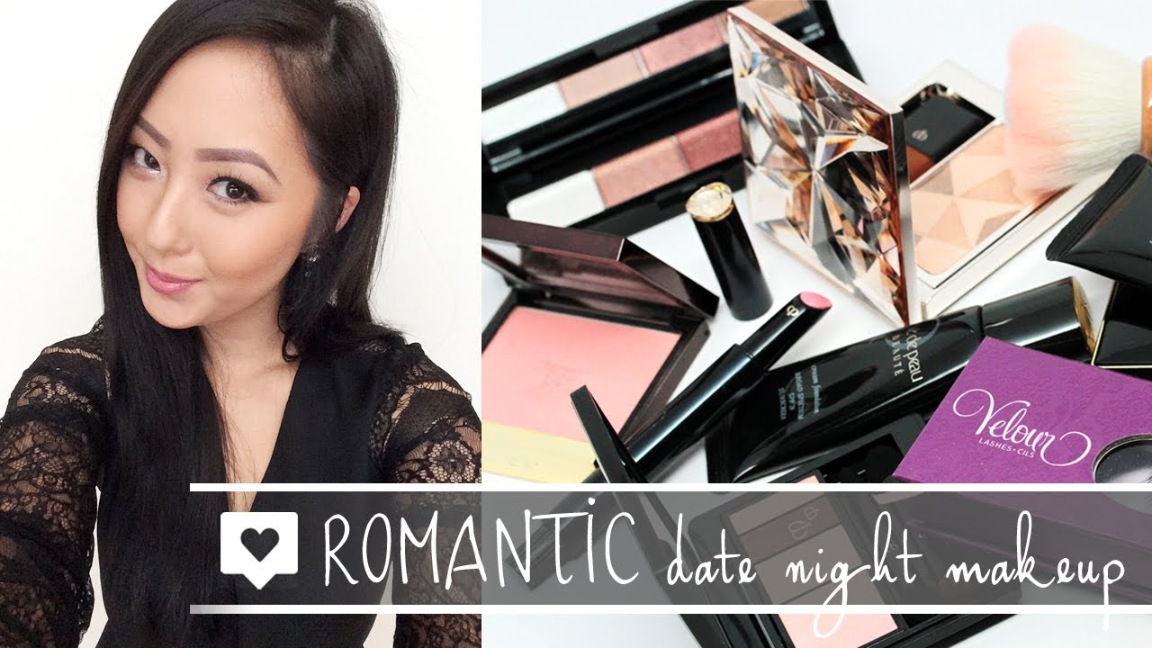 tutorial romantic date night makeup feat tom ford cle de peau sk ii youtube. Black Bedroom Furniture Sets. Home Design Ideas