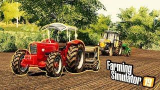 Siew Rzepaku we Wsi Nowym Ciągnikiem  Rolnicy Mechanicy ⭐️ Farming Simulator 19