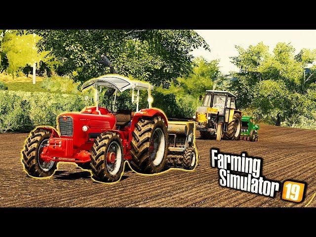 👨🏼🌾 Siew Rzepaku we Wsi Nowym Ciągnikiem 🔥 Rolnicy Mechanicy ⭐️ Farming Simulator 19 🚜