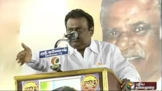 DMDK leader Vijayakanth imitating ADMK leader Jayalalithaa