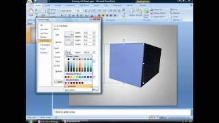Draw a 3D PowerPoint Shape