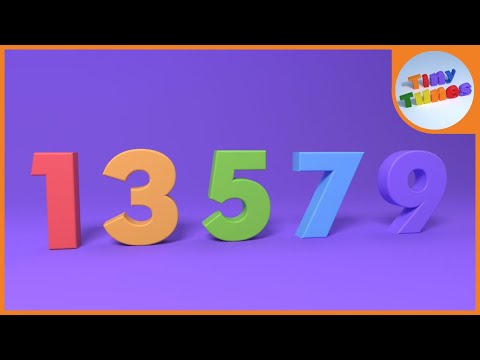 Counting By Odd Numbers | Tiny Tunes