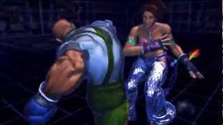 Street Fighter X Tekken - All Character Cross Art Exhibition HD