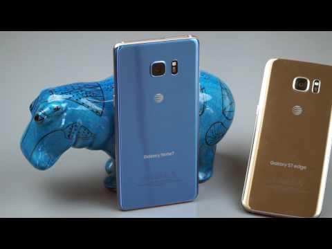 Samsung Galaxy Note 7 vs.  Samsung Galaxy S7 Edge Comparison Smackdown