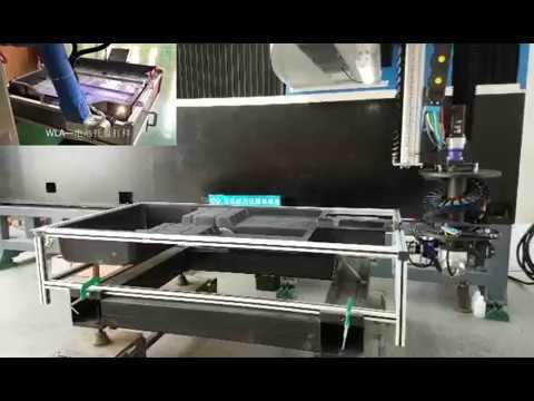 flexible 3D laser cut for fiberglass SMC cover of EV car battery box