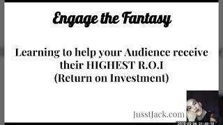 GET THEM THEIR MONEY BACK by Engaging the Fantasy