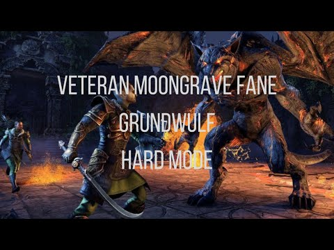 (ESO) - Veteran Moongrave Fane Final Boss Hard Mode, POV Tank Nightblade |