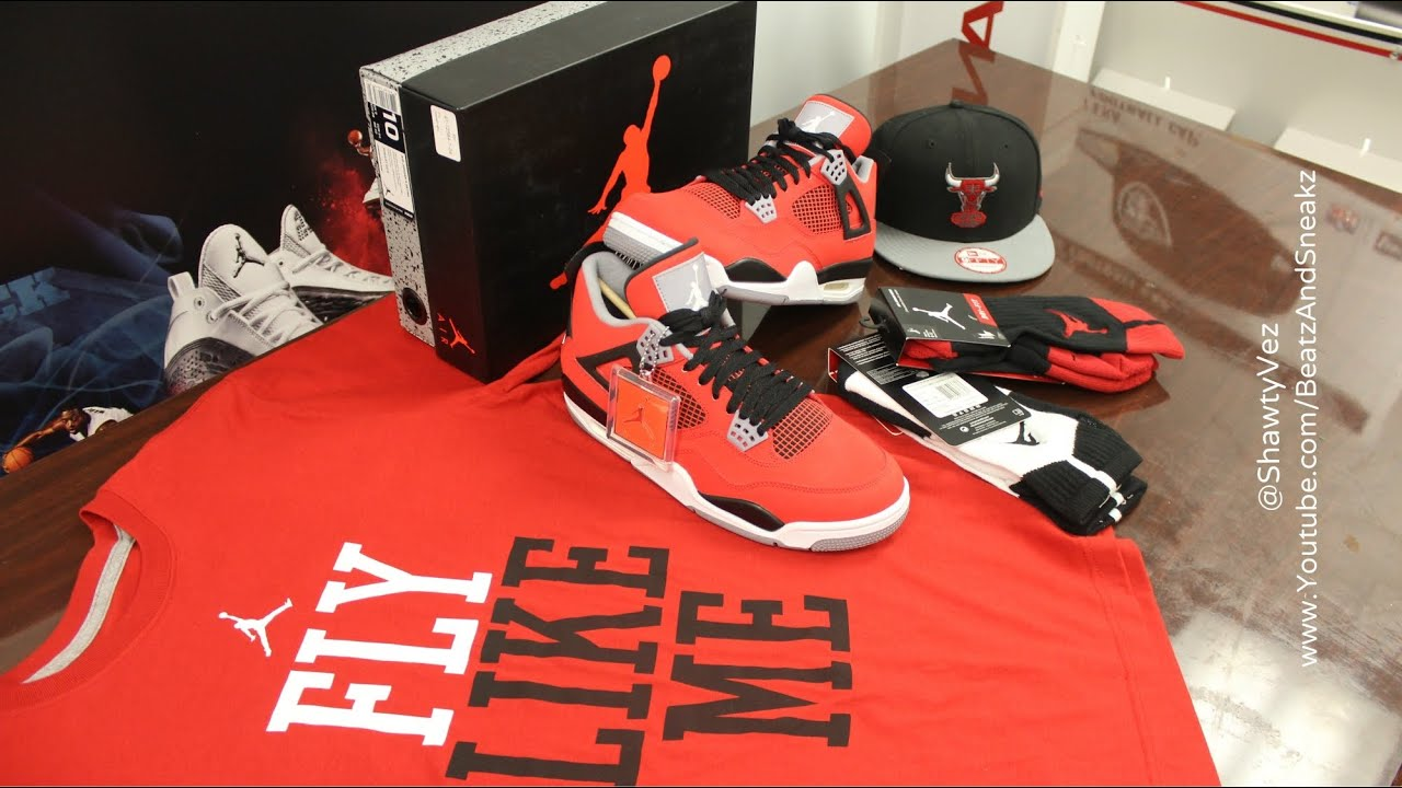 d42fe36131ec Air Jordan Retro 4 Toro Bravo Review - YouTube