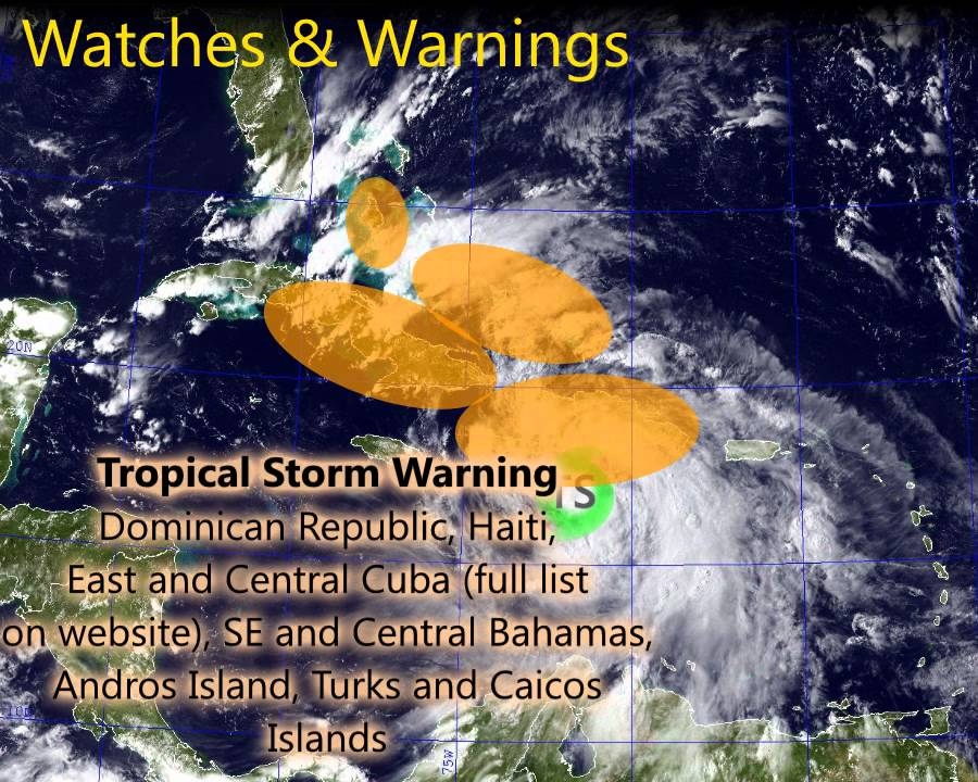 Tropical Storm Karen Bears Down On Puerto Rico, Virgin Islands