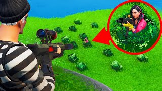 Playing GHILLIE vs. SNIPERS In FORTNITE! (*NEW* Game Mode)