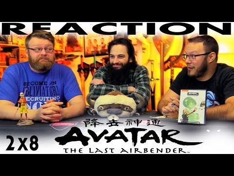 "Avatar: The Last Airbender 2x8 REACTION!! ""The Chase"""